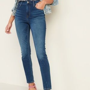 Old Navy Jeans - High-Waisted 24/7 Sculpt Rockstar Super Skinny
